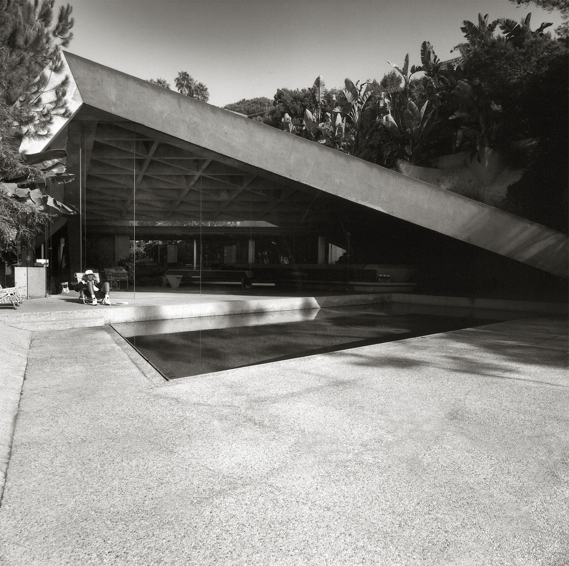 James Goldstein, Lautner house,  Los Angeles